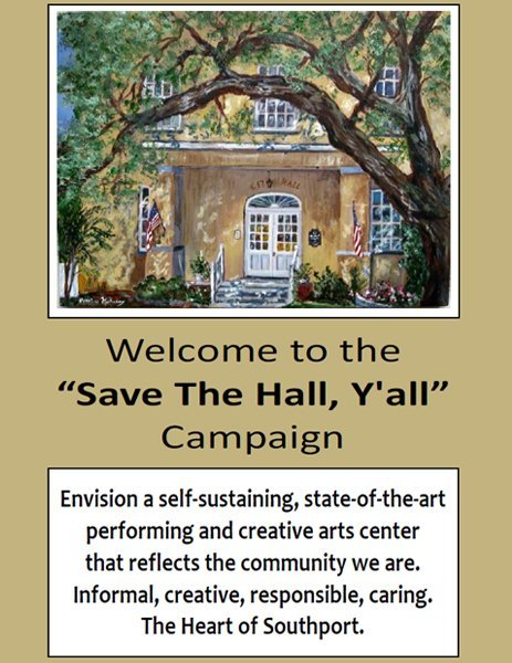 Save The Hall Yall Brochure
